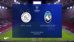 Champions League (Grupo D): Resumen y gol del Ajax 0-1 Atalanta