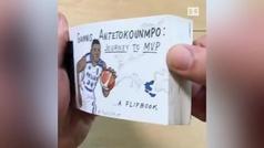 El formidable viaje de Antetokounmpo hacia el MVP en versión folioscopio