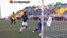 Un jugador de Lesoto y el error más cómico del camino a la Copa de África