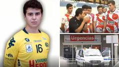 Deportista, sano, con 18 años y en la UCI del hospital de Segovia