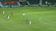 El gol de Sebas Moyano que lleva el sello de Messi