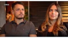 """Chicharito y Sarah Kohan: """"Vamos a tener un bebé"""""""
