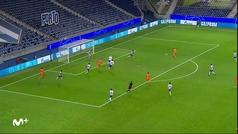 Gol de Chiesa (2-1) en el Oporto 2-1 Juventus