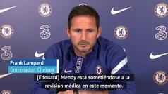 """Lampard: """"Con la llegada de Mendy habrá más competencia para Kepa"""""""