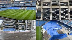 Así se transforma el Bernabéu de estadio en obras a estadio 'en activo'