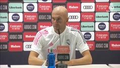 """Zidane: """"Somos ya muchos, ¿vas a meter a más gente aquí? ¿Para qué?"""""""