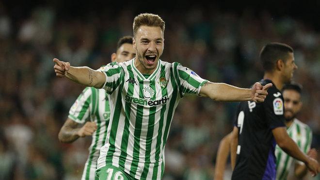Sin Guardado, Real Betis derrota al Leganés