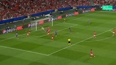 Gol de Renato Sanches (0-2) en el Benfica 0-2 Bayern Munich