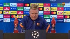 """Koeman : """"¿Messi? A partir de mañana, no hay más descanso"""""""