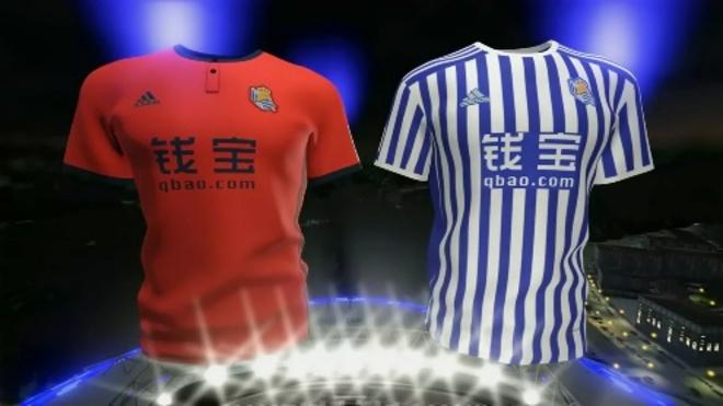 Real Sociedad  La Real presenta sus nuevas camisetas  7824fd25b61f1