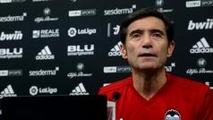 Marcelino reconoce que el Valencia actual tiene dudas