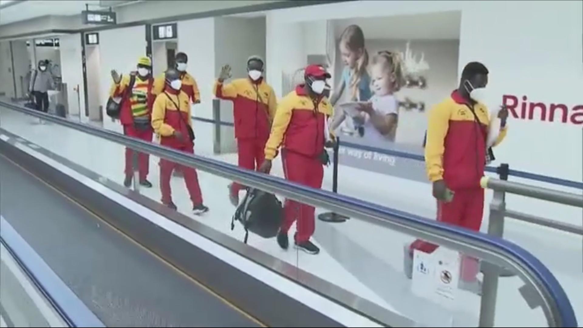 Juegos Olímpicos Tokio 2020: Llegan los primeros deportistas olímpicos a  Tokio | Marca