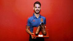 Isco recibe el Premio MARCA a MVP de la selección