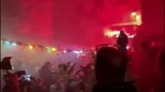 El emotivo adiós de la ciudad de Nápoles a Maradona