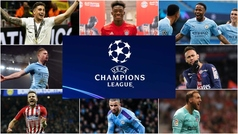 El once más valioso de la fase final de la Champions League