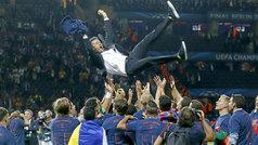 La pregunta y la respuesta de Luis Enrique que dejó mudos a sus jugadores antes de la final de Berlí