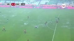 La lluvia le quita un gol cantado a Mauro Boselli