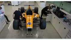 Así se construye, a toda velocidad, el coche de Alonso para conquistar la Indy500