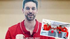 Pau Gasol se cuela en el vuelo a China de la selección con este vídeo de motivación