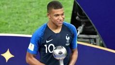"""Mbappé: """"Me quedo en el PSG, estoy al principio de mi carrera"""""""