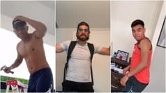 Futbolistas hacen el mejor video de la cuarentena con espectacular challenge