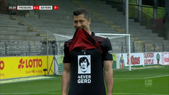 Así Lewandowski igualó el récord histórico de Gerd Müller: ¡Qué salvaje!