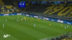 Gol de Foden (1-2) en el Borussia Dortmund 1-2 Manchester City