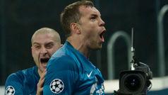 Champions League (Grupo G): Resumen y goles del Zenit 2-0 Lyon