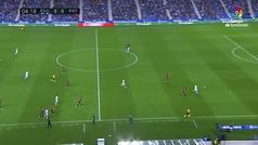 Gol de Baustista (1-0) en el Real Sociedad 2-2 Rayo Vallecano