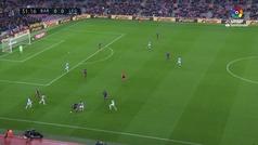 Gol de oro: Gol de Dembélé (1-0) en el Barcelona 3-1 Leganés