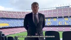 Laporta anuncia que habrá referéndum entre los socios si hay 'sí' al Espai Barça en la Asamblea