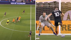 Medrán sigue 'on fire' en la MLS: golazo tras galopada maradoniana de 50 metros