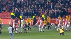 Eredivisie (J22): Resumen y goles del Ajax 5-0 NAC