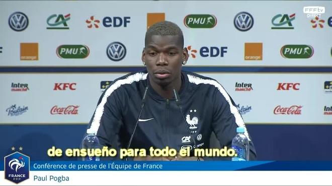 Paul Pogba confirma que jugar en el Real Madrid es un sueño
