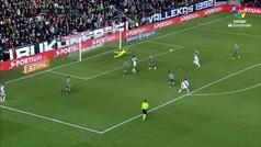 Gol de Comesaña (1-0) en el Rayo 2-2 Real Sociedad