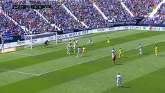 Gol de Bacca (0-1) en el Leganés 0-1 Villarreal