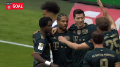 El Bayern saca el rodillo con una goleada (7-0) ante el Bochum