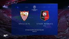Champions League (J2): Resumen y goles del Sevilla 1-0 Rennes
