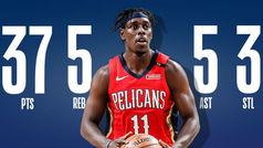 Los Pelicans descubren al mejor Jrue Holiday, que se hace MVP