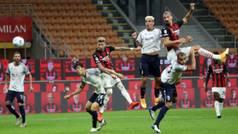 La dupla que asusta en Italia: asistencia de Theo y golazo de Ibrahimovic