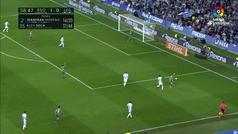 Gol de Oyarzabal (2-0) en el Real Sociedad 3-0 Leganés