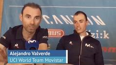 """Alejandro Valverde: """"Veo difícil que haya un dominador claro"""""""