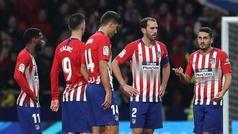 Copa del Rey (octavos, vuelta): Resumen y goles del Atlético 3-3 Girona