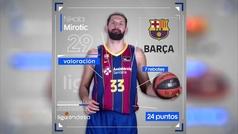Mirotic y Kravic, un MVP al alimón
