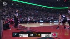 Raptors 120-117 Spurs
