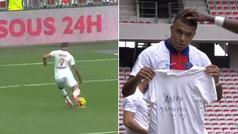 """El detallazo de Mbappé: jugadón, gol y dedicatoria para """"Juanito"""" Bernat"""