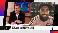 "Higuaín. ""Metí 26 goles y trajeron a Kaká y Benzema"""