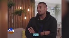 Kyrgios hace ver que no sabe quién es Djokovic