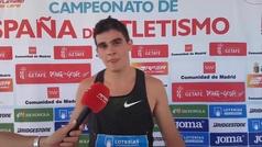 """Bruno Hortelano, tras su récord de 20.04: """"Me veo margen de mejora"""""""