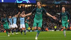 Champions League (cuartos, vuelta): Resumen y goles del Manchester City 4-3 Tottenham
